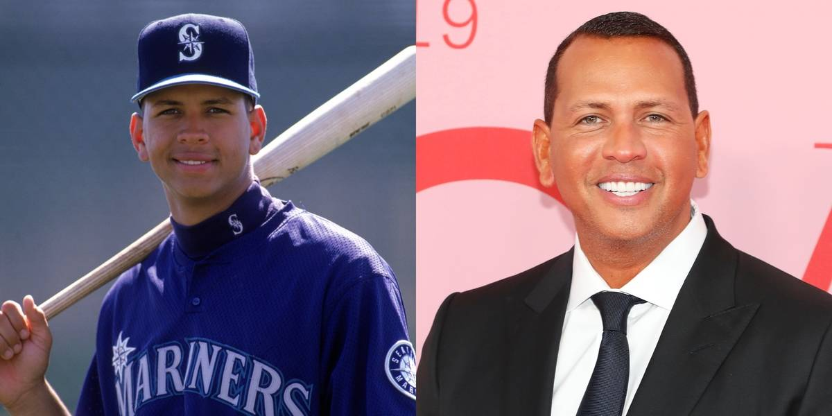 Alex Rodriguez Still Has A Youthful Glow About Him