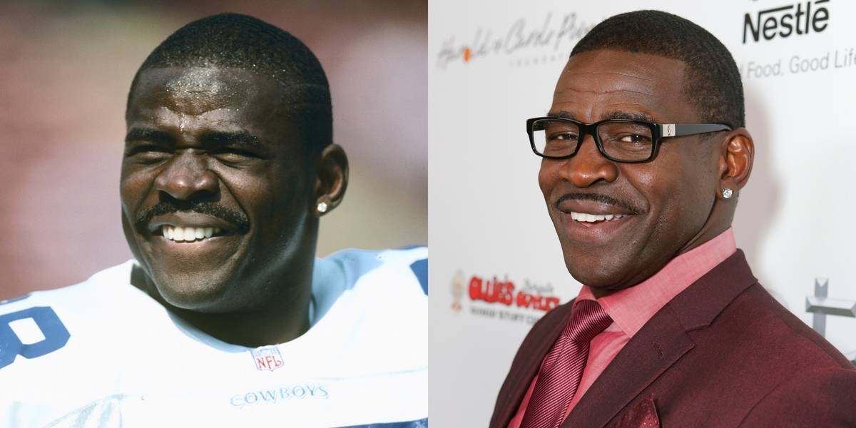 If Possible, Michael Irvin Looks Better After 12 Years Of Pro Ball