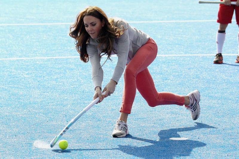 Kate Middleton Was A Field Hockey Player