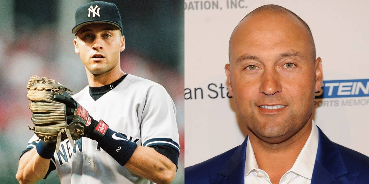Put A Hat On Derek Jeter And He Could Pass For A Younger Him