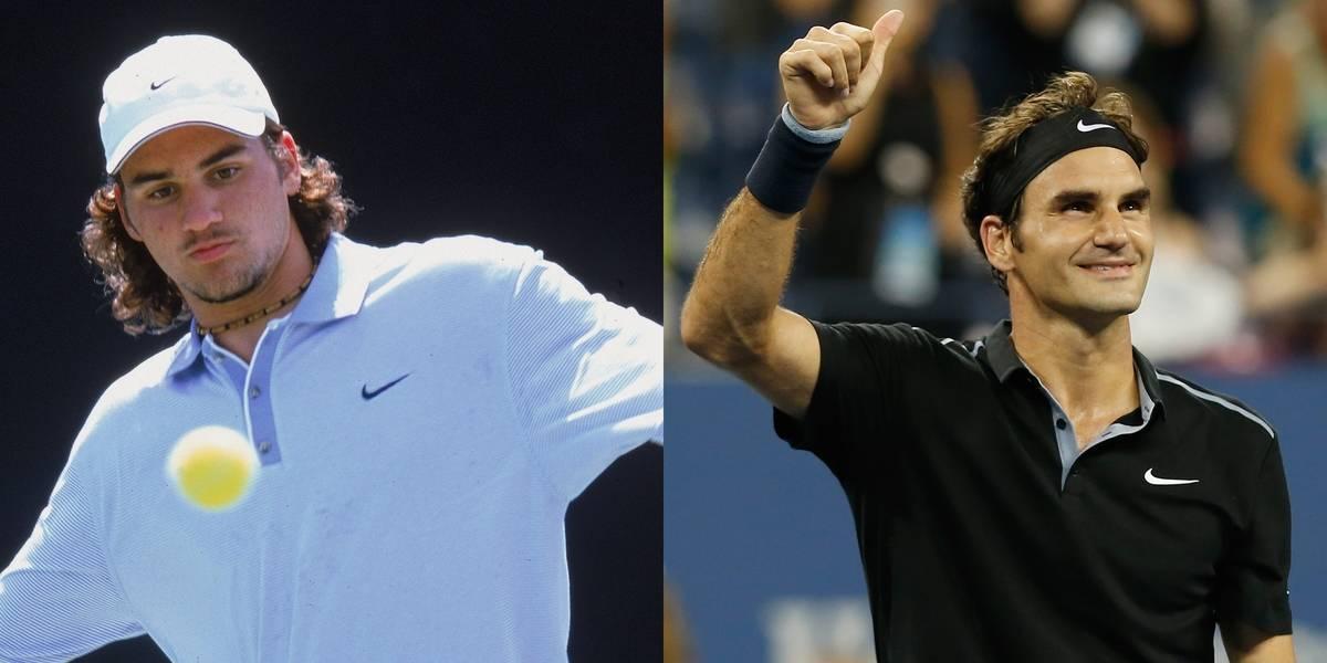 Roger Federer Certainly Learned Proper Hair Care