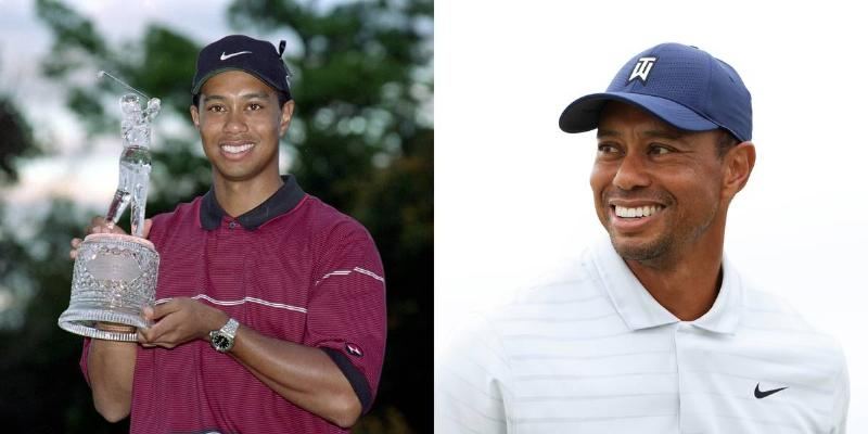 With A Hat, Tiger Woods Looks Like He Did In The 90s