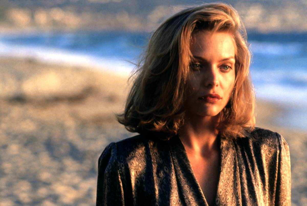 michelle pfeiffer on the beach