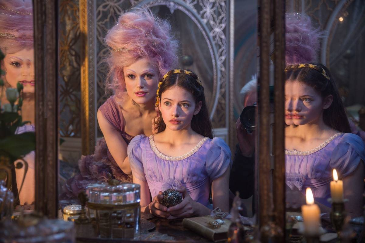 keira knightley and mackenzie foy in the nutcracker and the four realms