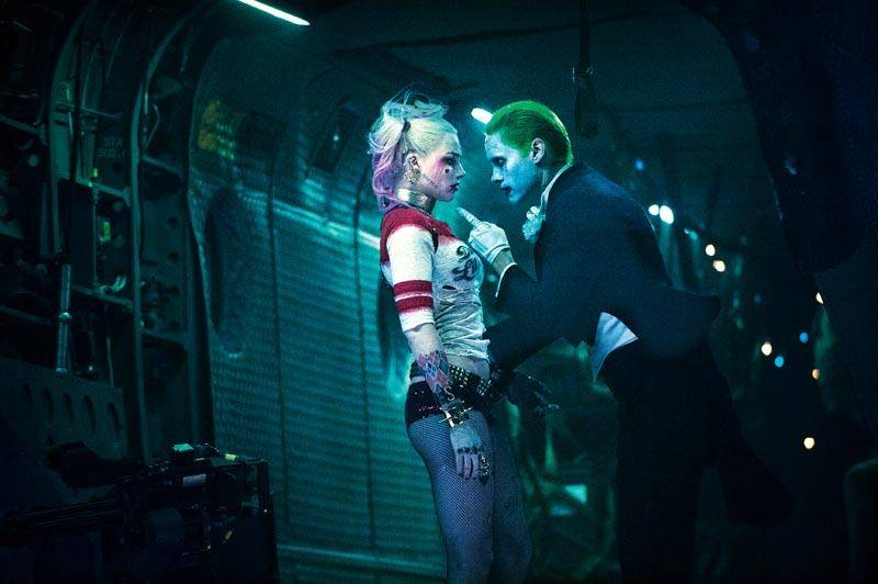 Picture of Harley Quinn and The Joker