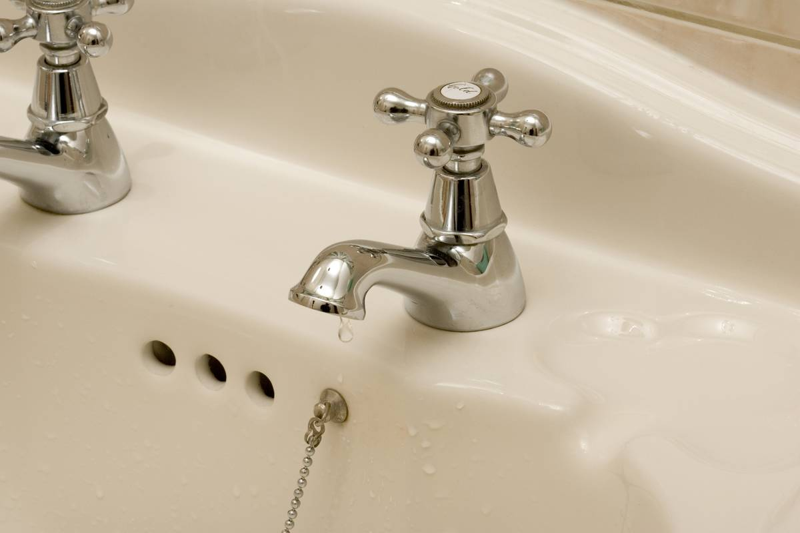 Bathroom tap dripping UK