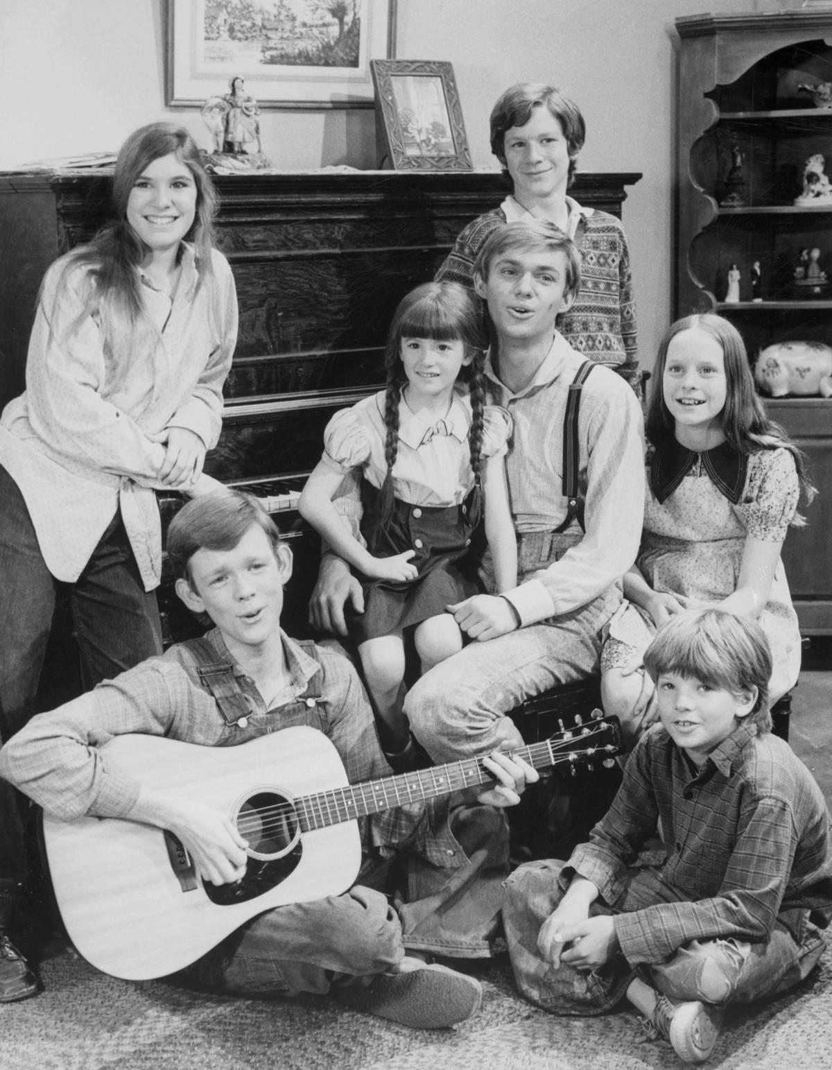 Cast from The Waltons