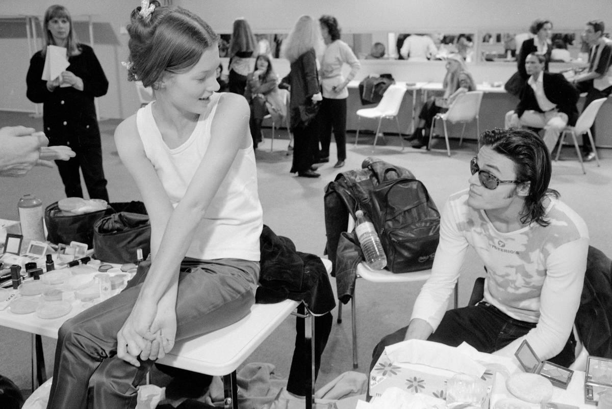 Kate Moss Backstage