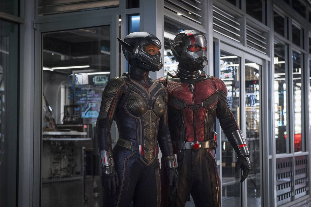 Ant-Man And The Wasp Uniforms Have Hidden Insect Faces
