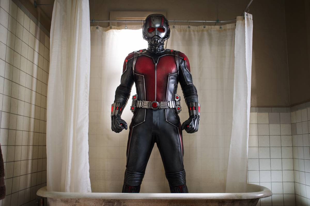 Ant-Man's Original Suit Is Reflective Of '60s Technologyq