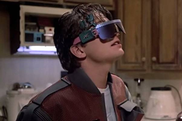 Back To The Future Part II Thought Of Google Glass Before Google