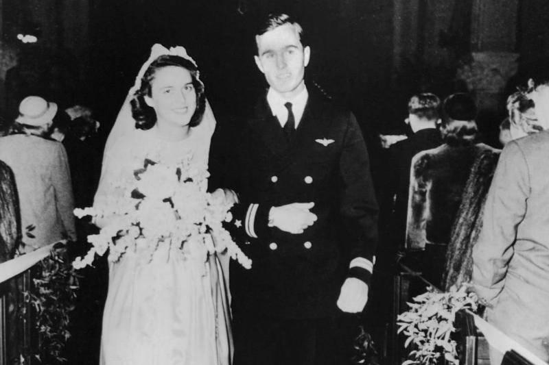 Barbara Bush Wore Her Mother-In-Law's Veil