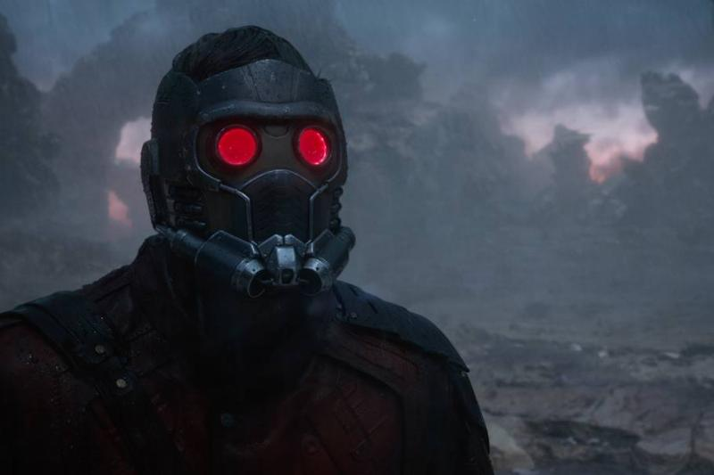 Captain Marvel And Starlord's Masks Have The Same Technology