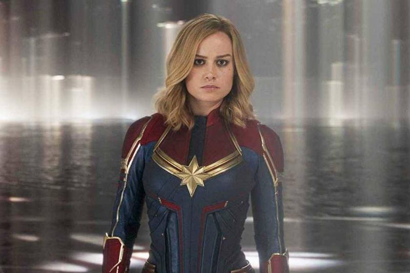 Captain Marvel Earns Her Stripes