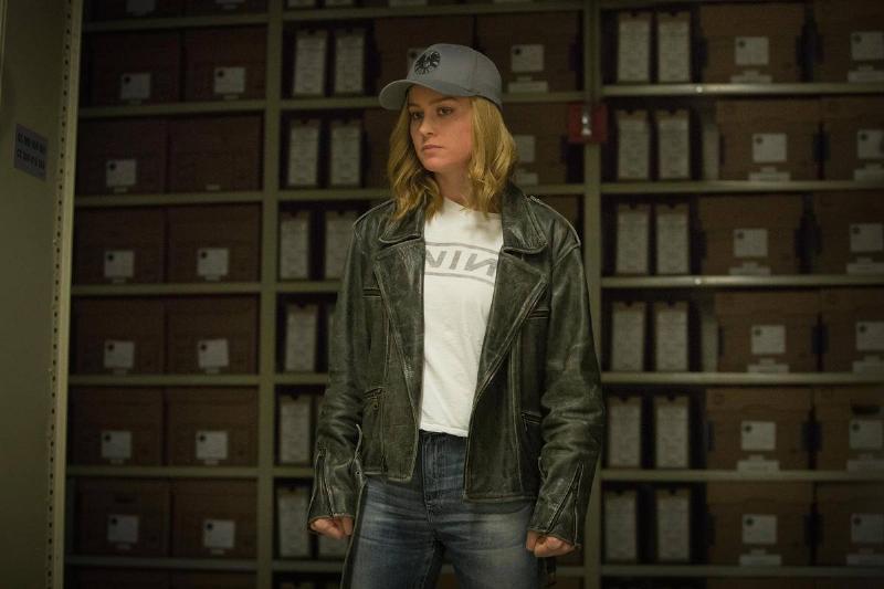 Captain Marvel Is A Rocker Chick