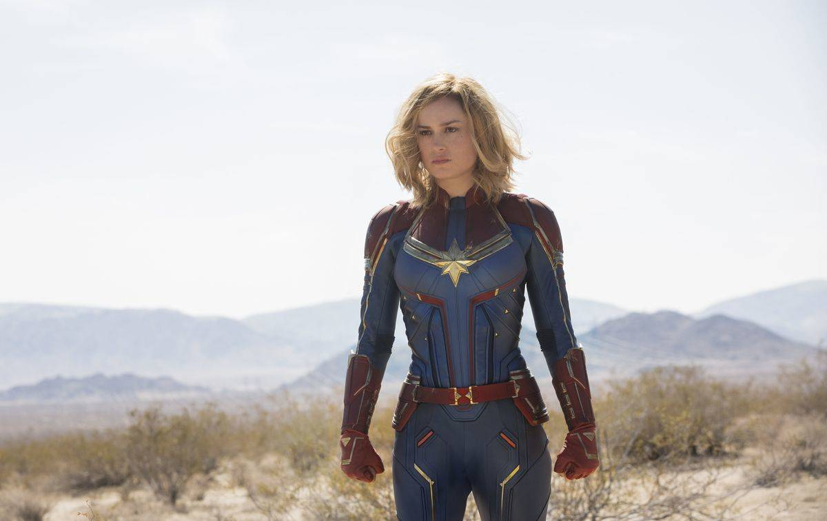 Red, Blue, And Gold Symbolize Captain Marvel's Bold Character