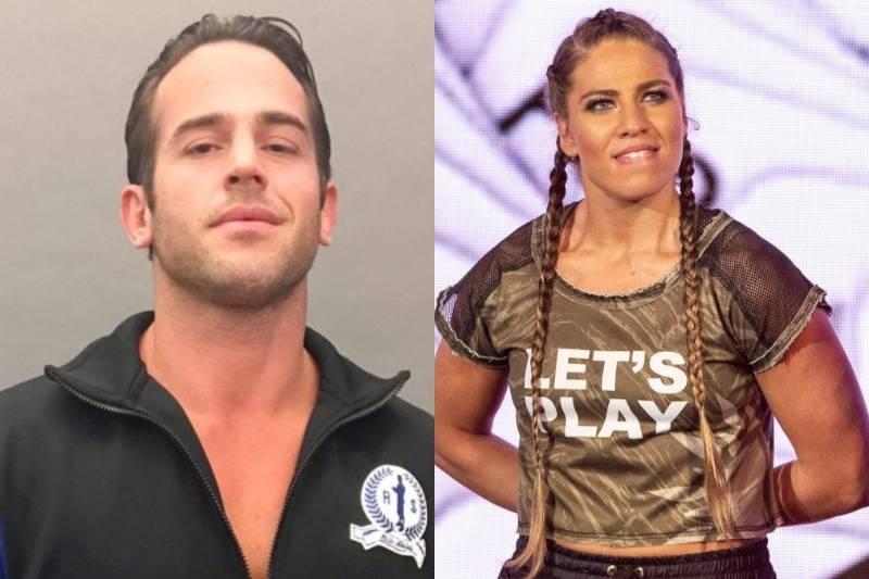 Roderick Strong and Marina Shafir