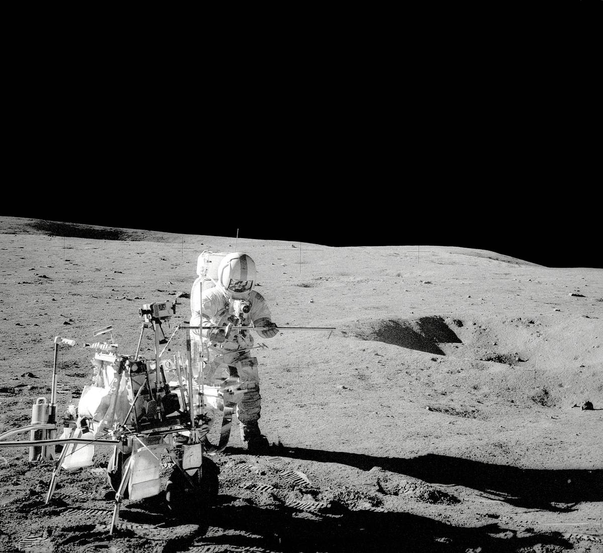 Apollo 14's Mission To The Moon