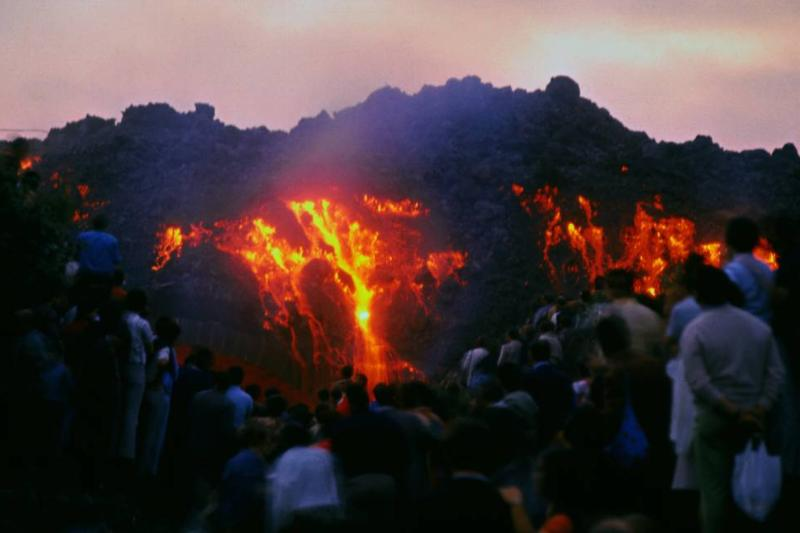 Mount Etna Erupted In Italy