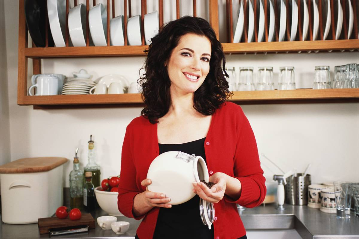 Chef Nigella Lawson poses for a portrait for Food Network.