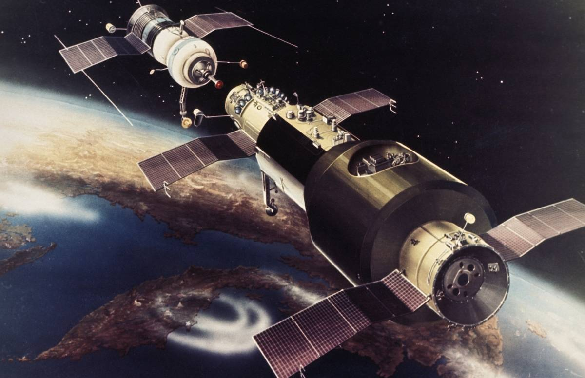 Salyut 1, The World's First Space Station, Was Launched