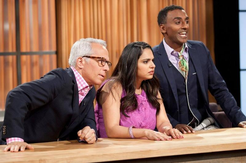 chopped judges speaking to contestants