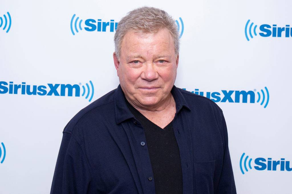 William Shatner posing for a photo