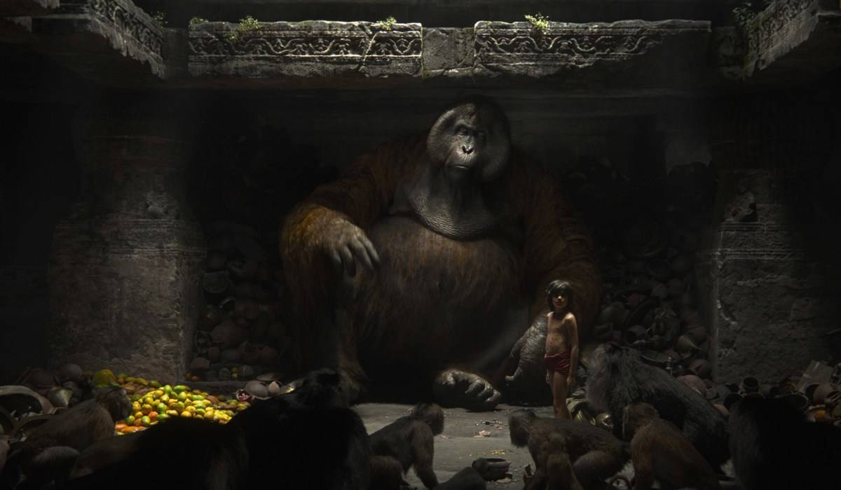 King Louie Isn't Over-Sized In The Jungle Book