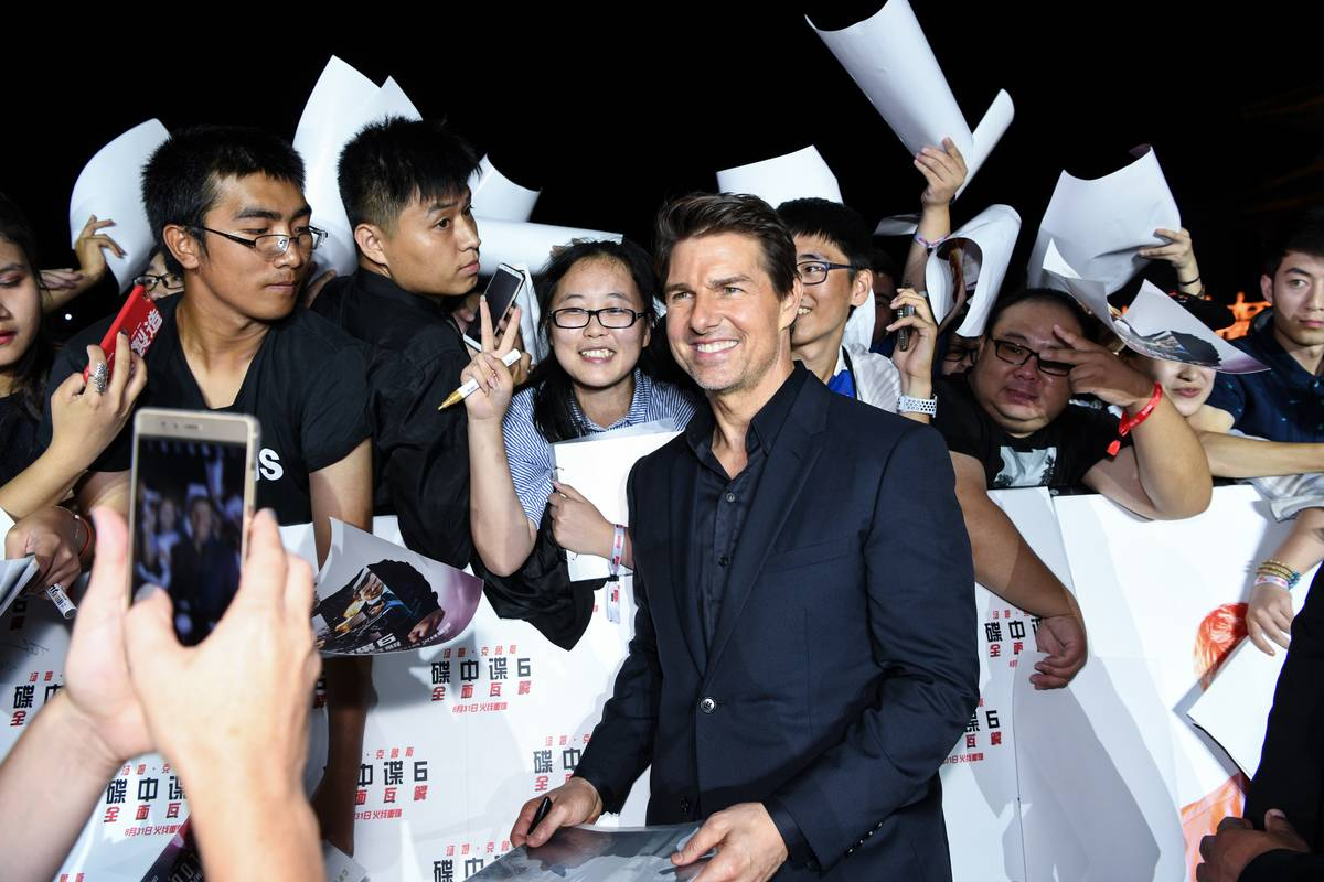 'Mission: Impossible - Fallout' China Premiere