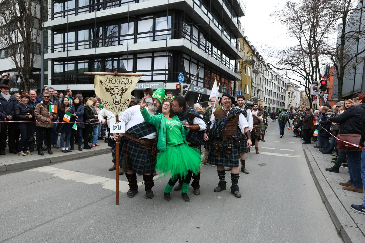 St. Patrick's day in Munich