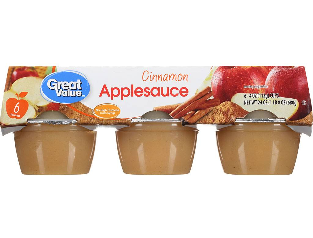 Picture of applesauce