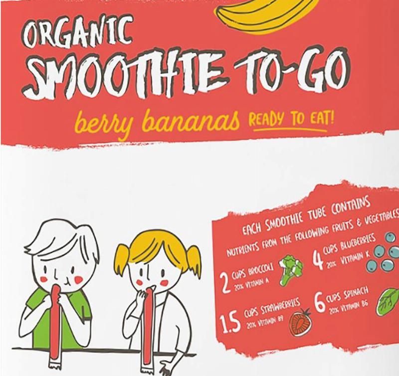 Picture of DeeBee's Organics Smoothie To-Go