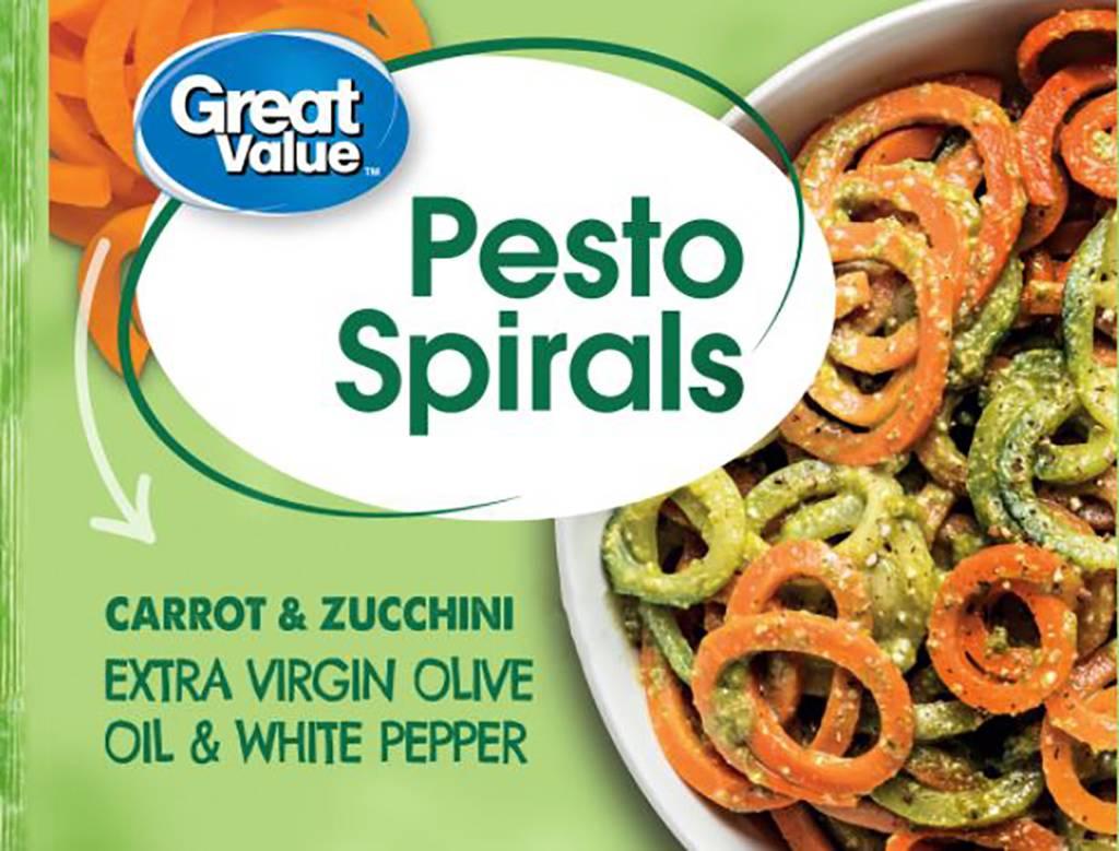 Picture of pesto spirals
