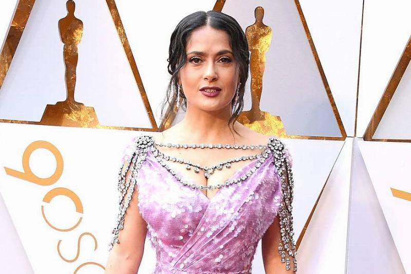 Salma Hayek Should Have Said No To The Extra Crystals