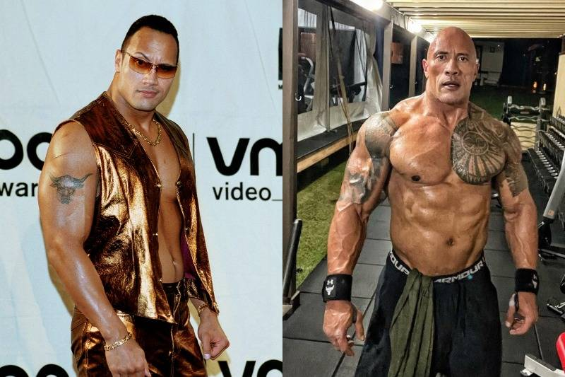 The Rock's Polynesian Tattoos Weren't A Thing Until 2003