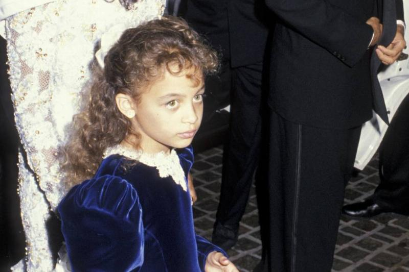 This Little Girl Was Going To Grow Up In A World Of Rockstars