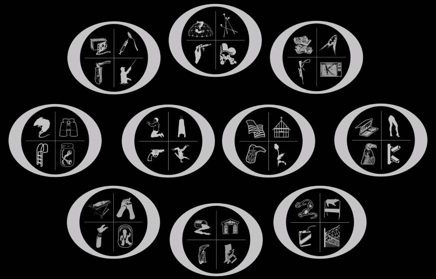Pictures of symbols