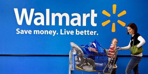 Picture of Walmart customer