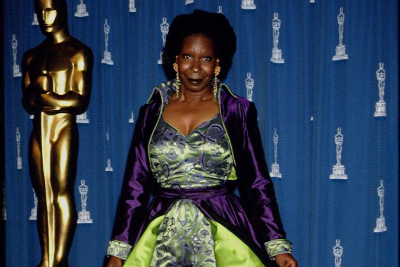 Whoopi Had A Need For Green (And Purple)