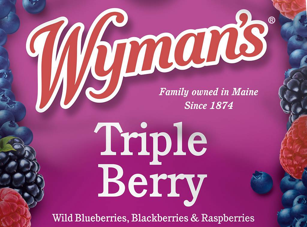 Picture of  Wyman's Triple Berry Frozen Fruit Mix