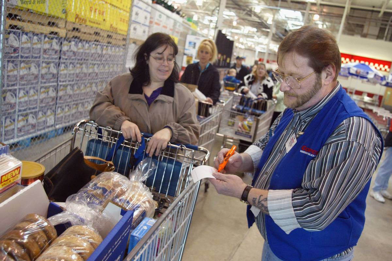 FILE PHOTO Costco Profits Rise In Weak Economy