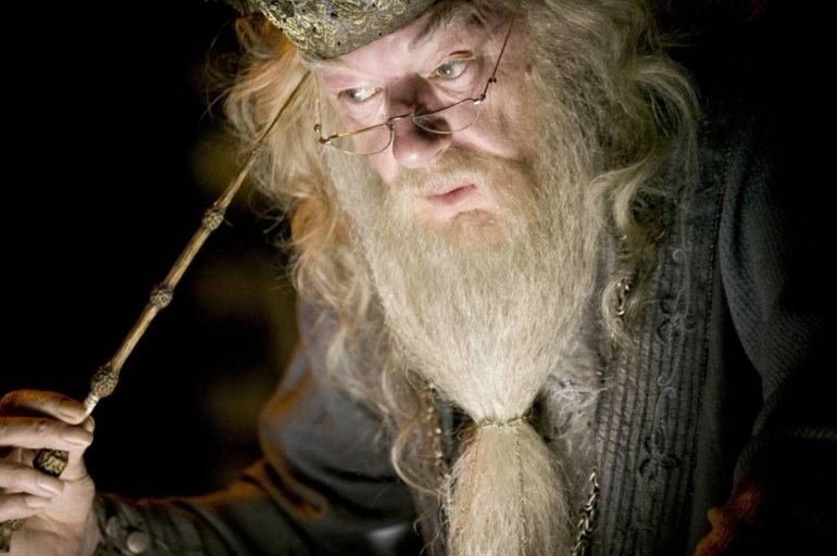 Dumbledore with eyes