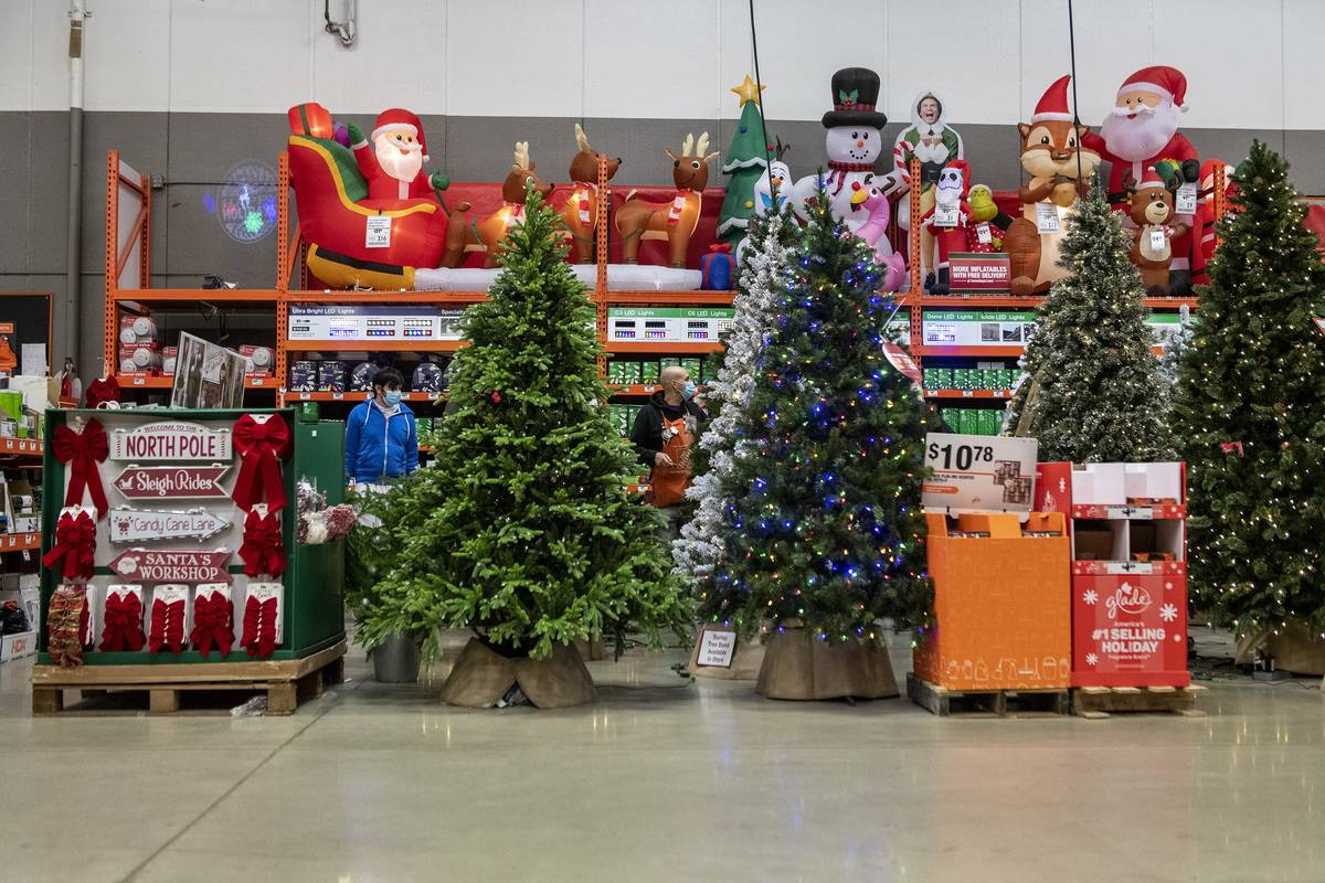 A Home Depot Store Ahead Of Black Friday