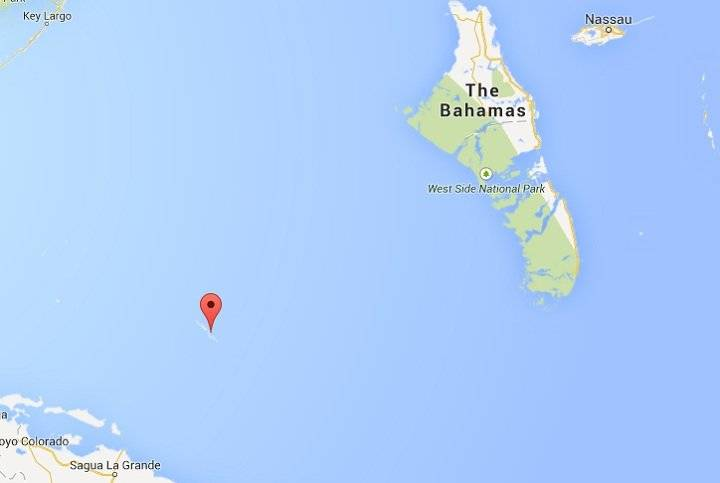 Google Maps shows how deserted Anguilla Cay is.