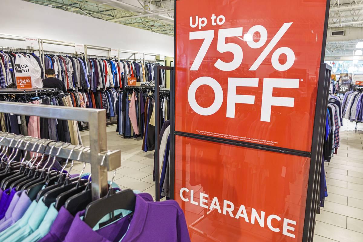 Florida, Orlando International Premium Outlets, Saks Off 5th, discount department store big sale on merchandise
