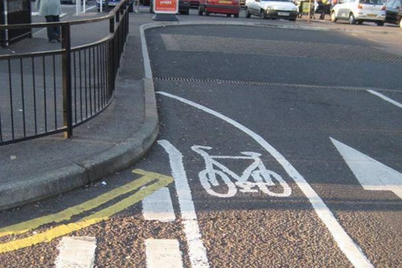 The Most Pointless Bike Lane