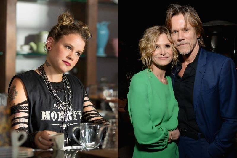 sosie bacon side by side with parents kevin bacon and kyra sedgwick
