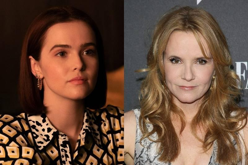 zoey deutch and her mother lea thompson