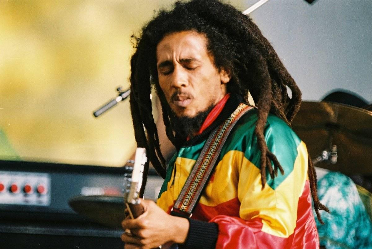 Bob Marley Performs At Crystal Palace Bowl in London