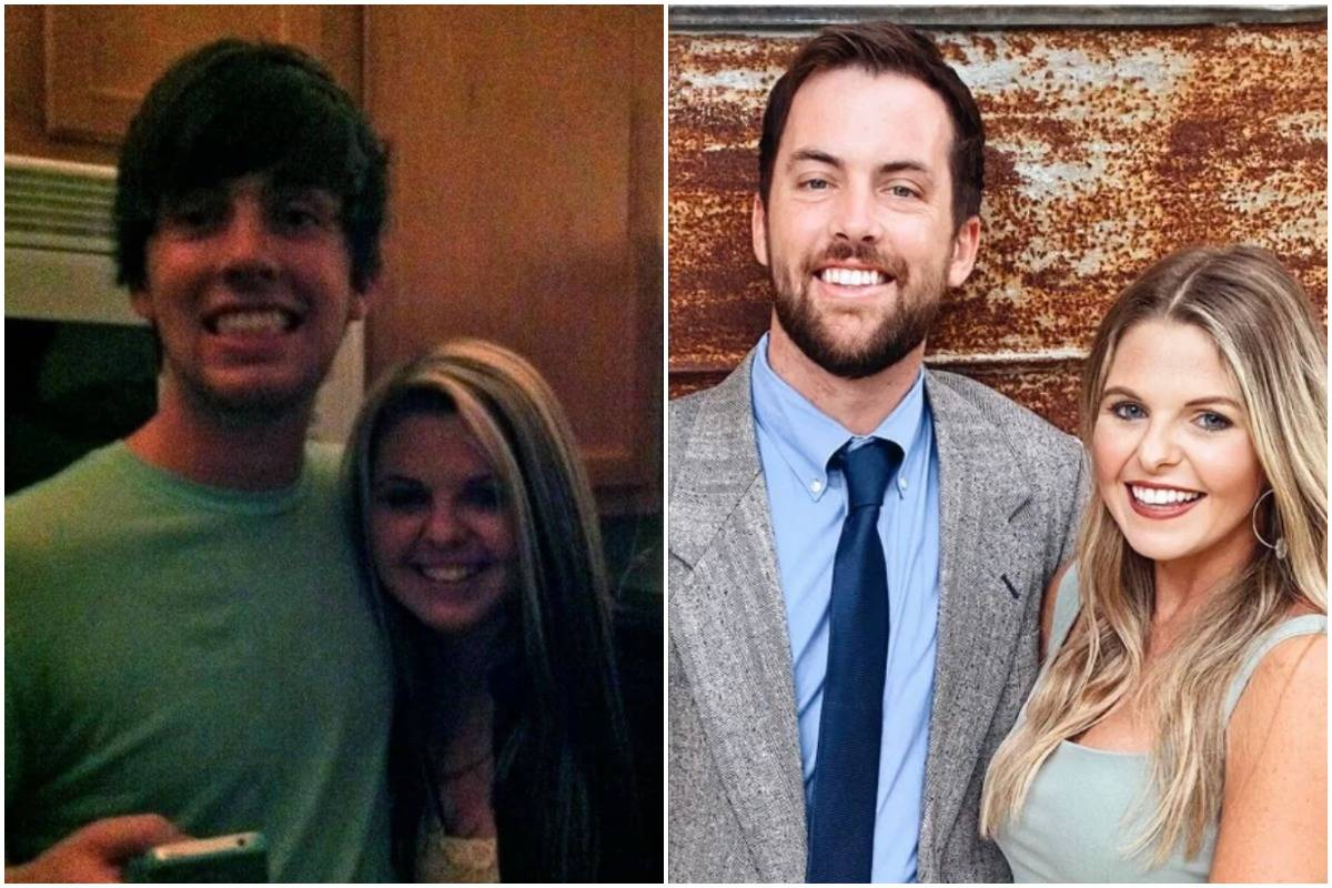 Before-and-after photos show a couple at 21 (left) and 31 (right).